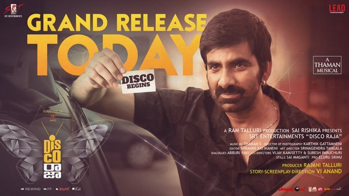 Disco Raja Movie Review- -Disco Raja Movie Review-