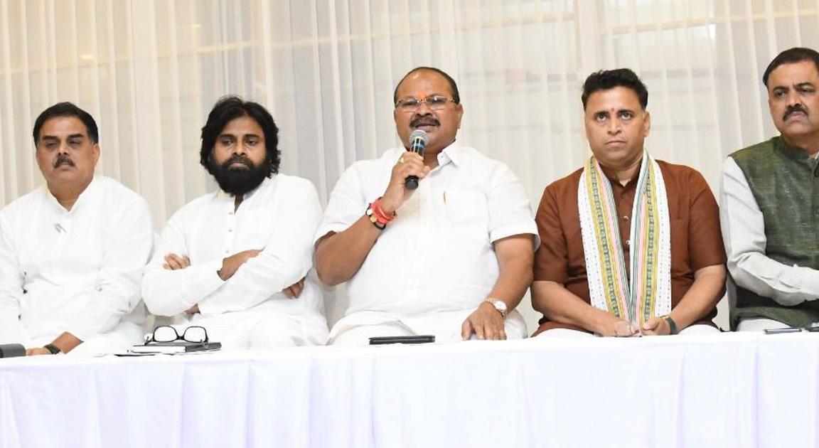 JD Lakshminarayana Serious About Janasena And BJP Alliance-Bjp Alliance Janasena Jd Pawan Kalyan లక్ష్మీనారాయణ