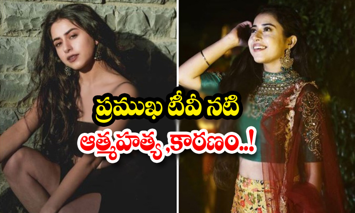 Famous TV Actress Suicide Cause-Kushal Sejal Sharma సెజల్ శర్మ