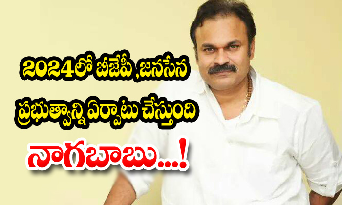 Janasena And Bjp Will Form Government On 2024 In Ap