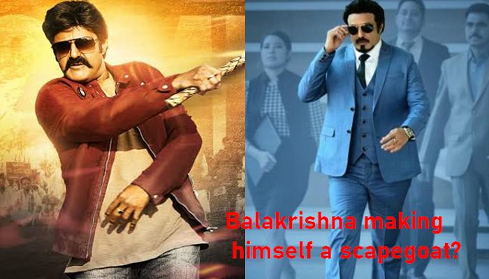 Nandamuri Balakrishna Making Himself A Scapegoat?-