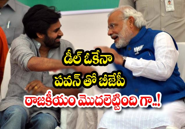 Pawan Kalyan Deal With Bjp Party Over Amaravathi