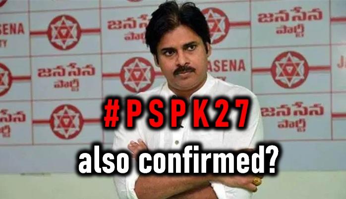 TeluguStop.com - Pawan Kalyan New Movie #pspk27 Also Confirmed?