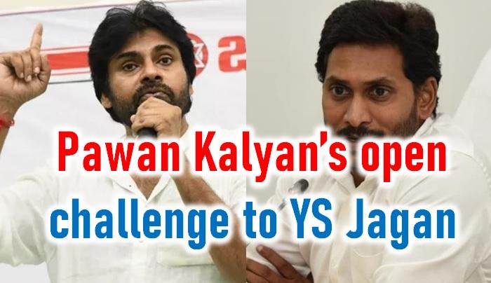 Pawan Kalyan Open Challenge To AP CM YS Jagan-Pawan Pawan Ys Jagan Prudhvi Raj Comments