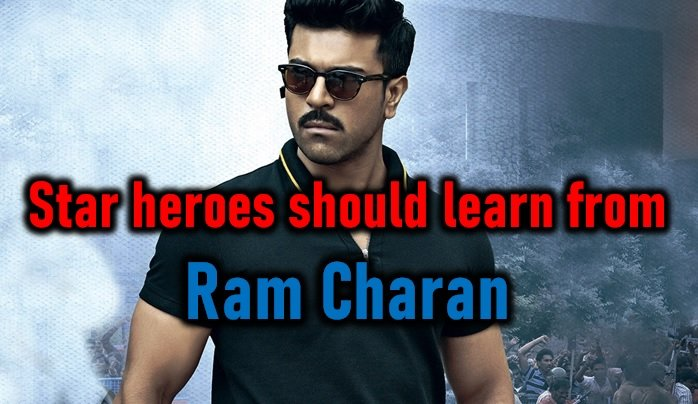 Star Heroes Should Learn From Ram Charan-Fake Collections Mahesh Babu Rangasthalam Controversy