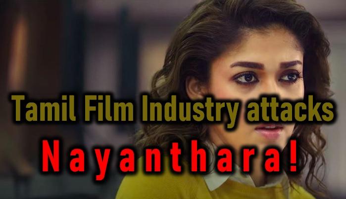 Tamil Film Industry Attacks Top Heroine!-Nayanthara Promotions