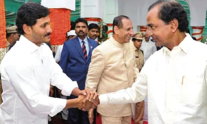 Telugu Ap Cm Jagan Mohan Reddy, Jagan Mohan Reddy Focus On Bjp Party, Kcr And Jagan, Kcr In Pragathi Bhavan, Telangana Cm Kcr, -