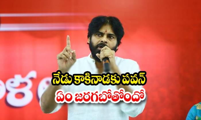 Today Pawan Kalyan Tour In Kakkinada-mla Dwarampudi Chandrashekar Reddy,pawan Kalyan Telugu Political Breaking News - Andhra Pradesh,Telangana Partys Coverage-Today Pawan Kalyan Tour In Kakkinada-Mla Dwarampudi Chandrashekar Reddy