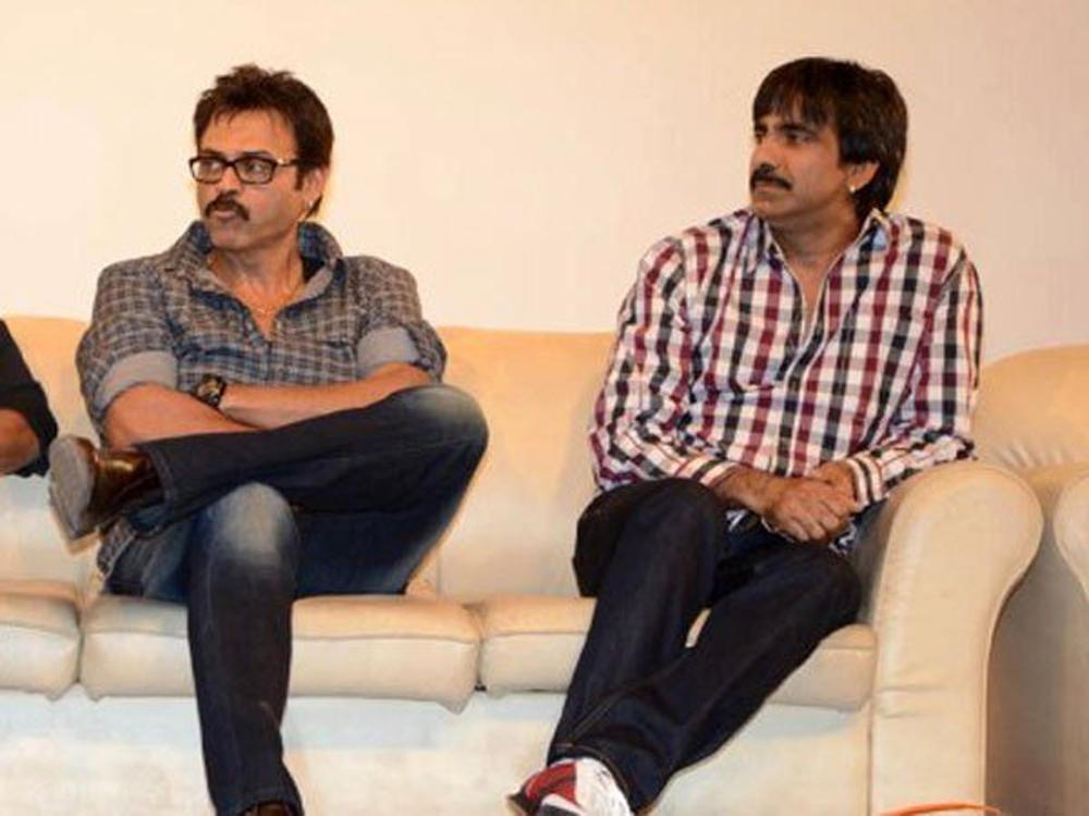 Venkatesh And Ravi Teja Something Is Going To Happen-F3 Ravi Varun Tej Venkatesh రవితేజ వెంకటేష్