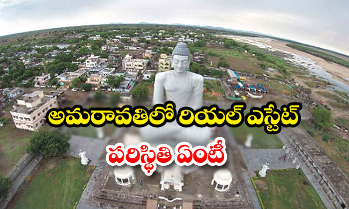 What Is The Switchwation Of Real Estate In Amaravathi-Ap Cm Jagan Mohan Reddy Take Three Capital Issue