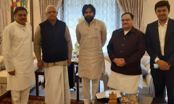 YCP MP Vijaysai Reddy Comments On TDP And Janasena-Pawan Kalyan Meet In Bjp Leaders Tdp Chief Chandrababu Naidu Vijaysai Ycp Jagan Mohan