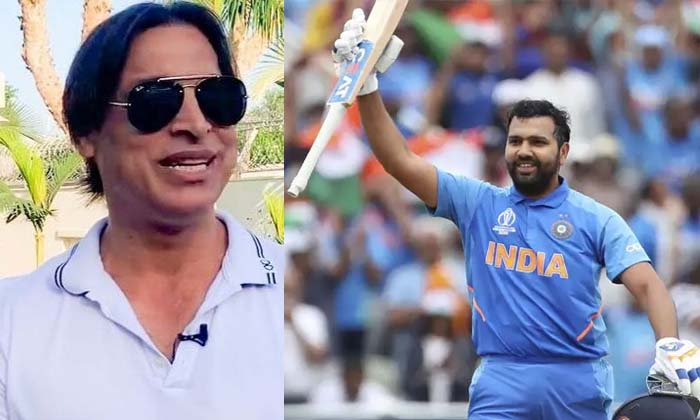Pakistan Bowler Akhtar Doing Comments On Rohit Sharma-Rohit Sharma Rohit And Sachin Latest News
