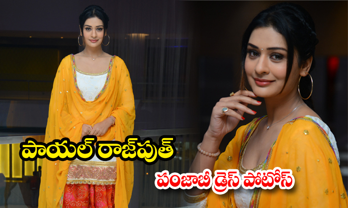 payal rajput punjabi dress photos