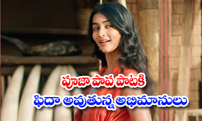Pooja Hegde Samajavaragamana Song Goes Viral In Social Media-Pooja Latest News Pooja Samajavaragama Tollywood Actress