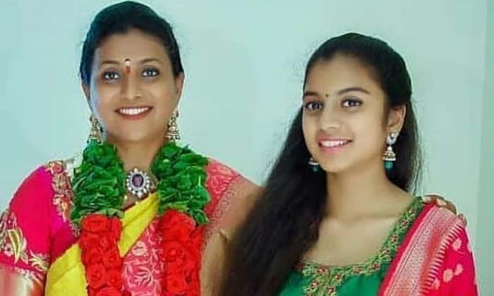 Senior Actress Roja Is Planning To Introduce Her Daughter Into The Telugu Film Industry-roja,roja Actress,roja Telugu Senior Actress,roja Tollywood Actress,rojaselvamani,tollywood-Telugu Trending -Senior Actress Roja Is Planning To Introduce Her Daughter Into The Telugu Film Industry-Roja Roja Tollywood Rojaselvamani