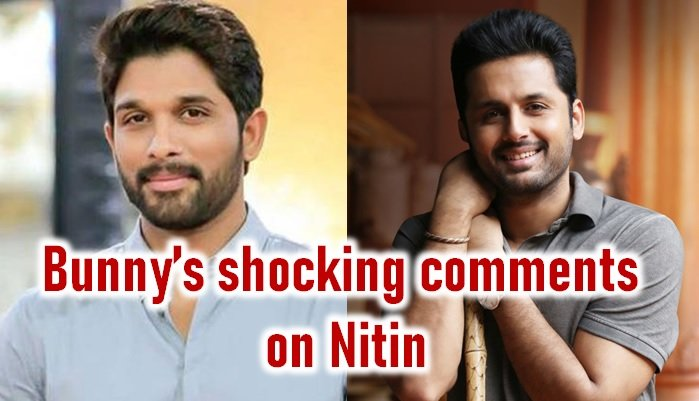 Allu Arjun Shocking Comments On Nitin