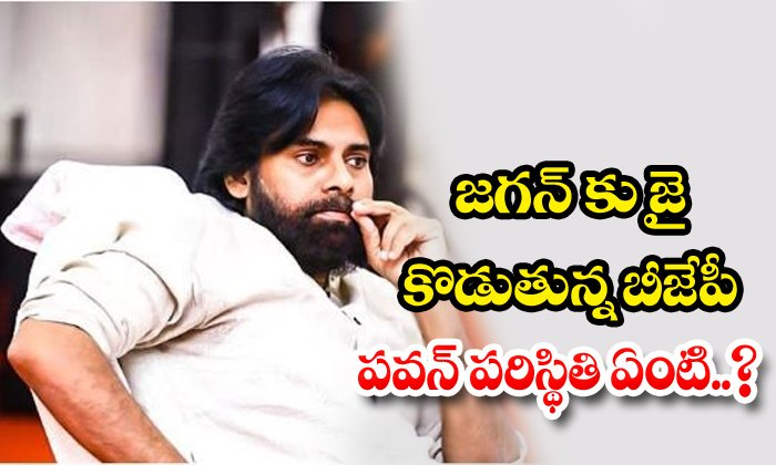 Bjp Support In Jagan Mohan Reddy What About Pawan - Telugu Ap Cm Jagan Mohan Reddy, , Jagan, Jagan Meet Modi, Janasena And Bjp Alliance, Janasena Chief Pawan Kalyan, Modi Support To Jagan-Breaking/Featured News Slide-Telugu Tollywood Photo Image