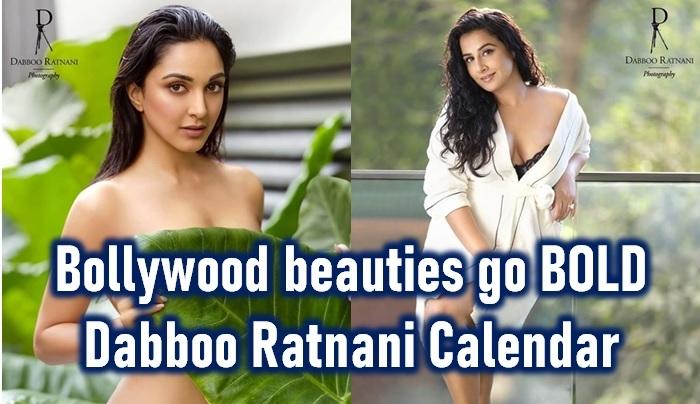 Bollywood Celebrities Pose For Dabboo Ratnani Lens! Sensuality Oozing - Telugu Aishwarya Rai Hot Heroines Actress Kiara Advani Topless