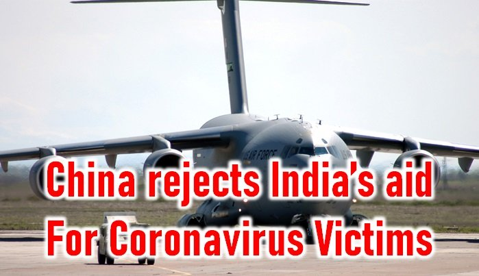 TeluguStop.com - China Rejects India's Aid For Coronavirus Victims