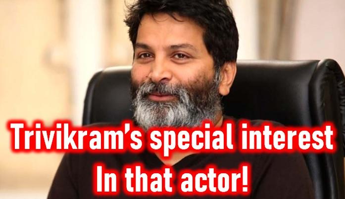 Director Trivikram Seems Too Interested In That Actor! - Telugu Srinivas Next Movie Ntr Sunil Movies