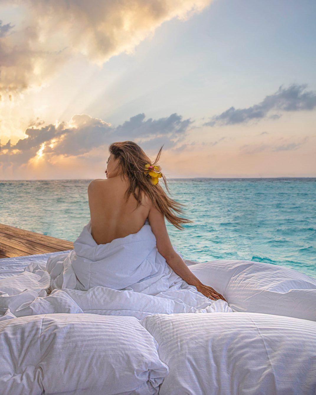Pic Talk: Exotic Beauty Mouni Roy In Bikini-Hot Heroine Photos Mouni Hot Latest Instagram