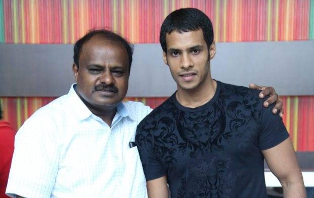 Telugu Engagement, Jaguar Hero, Jaguar Movie, , Kumaraswami ., Nikhil Gowda-Movie