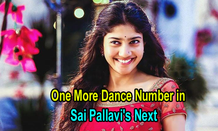 One More Dance Number In Sai Pallavi's Next