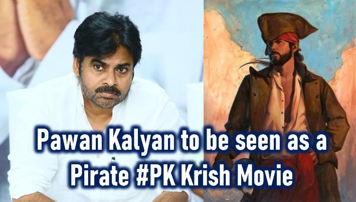 Pawan Kalyan To Play 'pirate' Role In Krish Movie? - Telugu Movie Latest Film Pink Remake