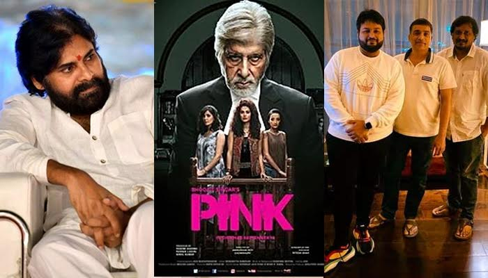 Telugu Dil Raju And Boney Kapoor, Pawan Kalyan, Pay Cheque, Pink Remake, Producers Completely Involved, Strong Demand-Movie-English