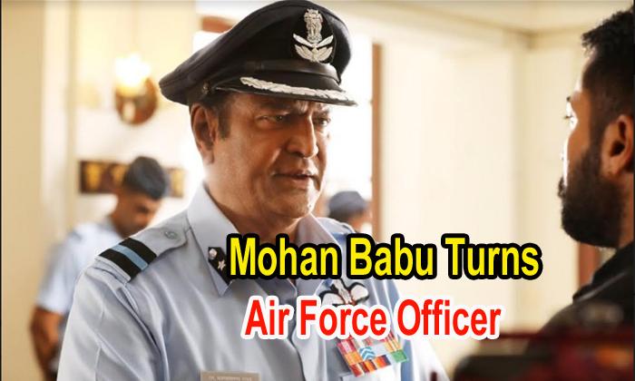 Pic Talk: Mohan Babu Turns Air Force Officer
