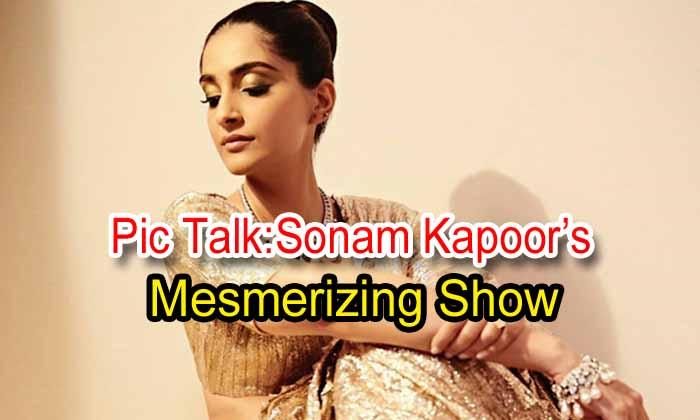Pic Talk: Sonam Kapoor's Mesmerizing Show