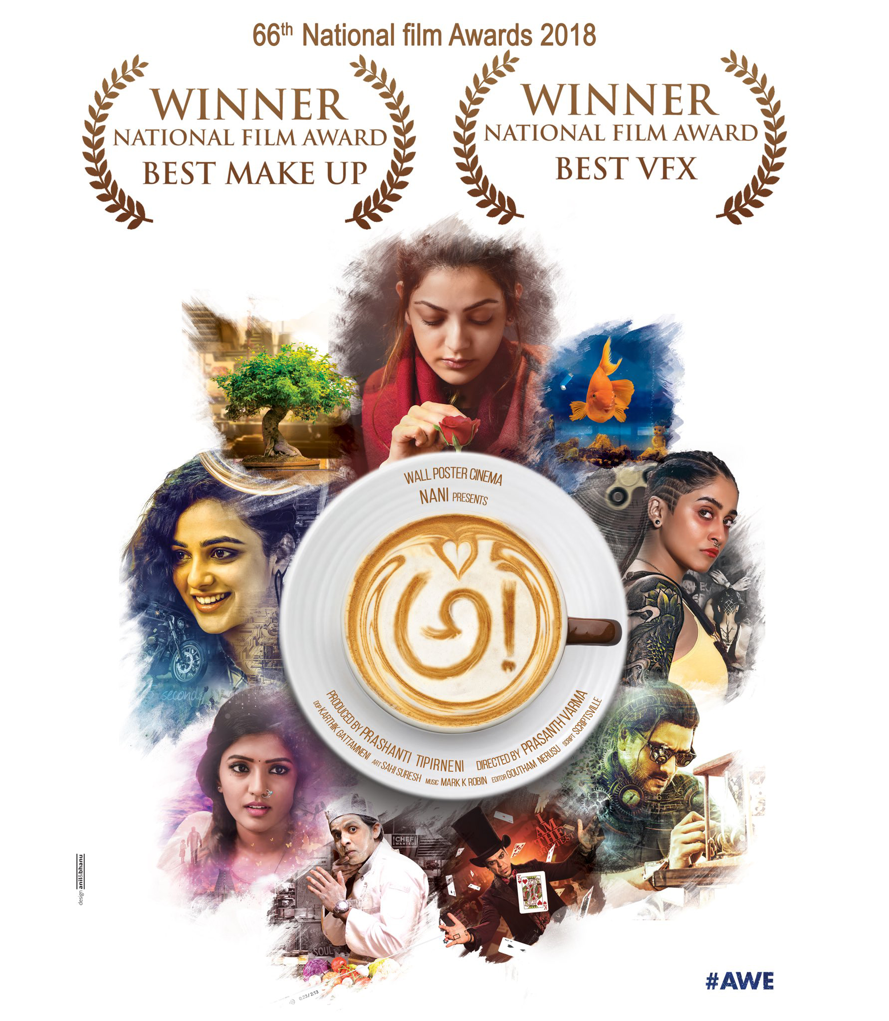 Telugu Awe, Devadarshini, Eesha Rebba, Kajal Aggarwal, Nithya Menen, Pragathi And Murali Sharma, Prasanth Varma\\'s, Prasanth Varma\\'s Latest Tweet About \\'awe-2\\' Raises Curiosity, Priyadarshi, Regina Cassandra, Srinivas Avasarala, Young Filmmaker Prasanth Varma-Breaking/Featured News Slide-Telugu Tollywood News Photos Pics