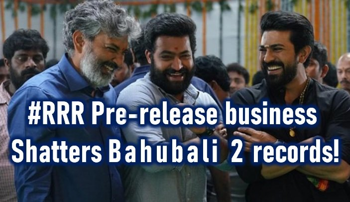 Rrr Pre-release Business Shatters All Records!