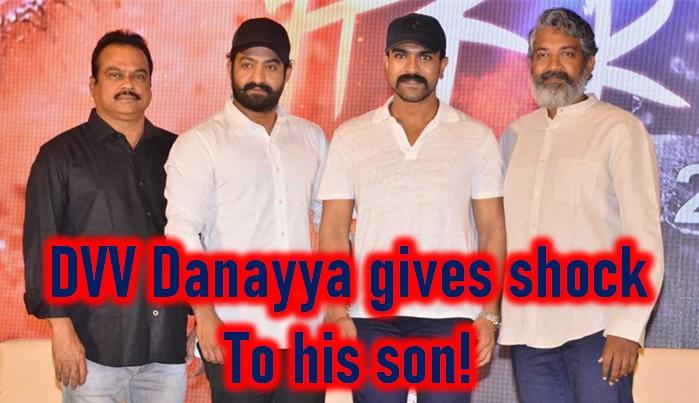 Rrr Producer Dvv Danayya Gives Shock To Own Son! - Telugu Producer Danayya Son Movie, Producer Dvv Danayya, Rrr Movie Budget, Rrr Movie Producer Danayya-Latest News-Telugu Tollywood Photo Image