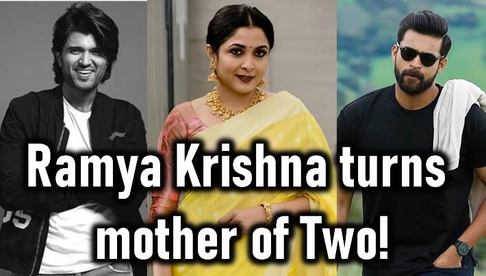 Ramya Krishna Turns Mother Of Two! - Telugu In Boxer Movie Fighter Rajamouli New