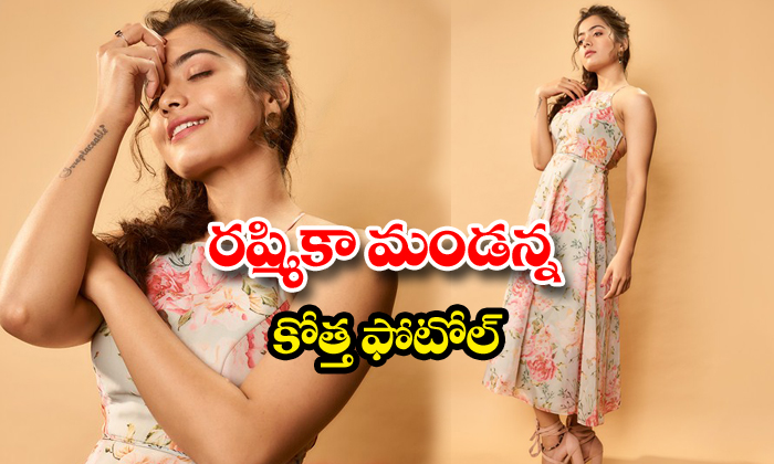 Rashmika Mandanna stunning action photos