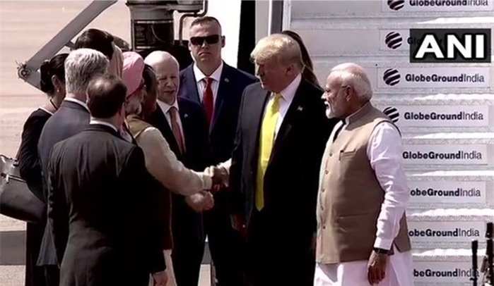 Telugu Donald Trump In India, Donald Trump India Schedule, Donald Trump Tour Of India, Donald Trump Trip Details-Political-English