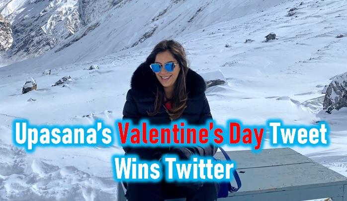 Valentine's Day Tweet From Upasana Konidela Wins Twitter - Telugu Latest Official Account Ram Charan Photos Real Age
