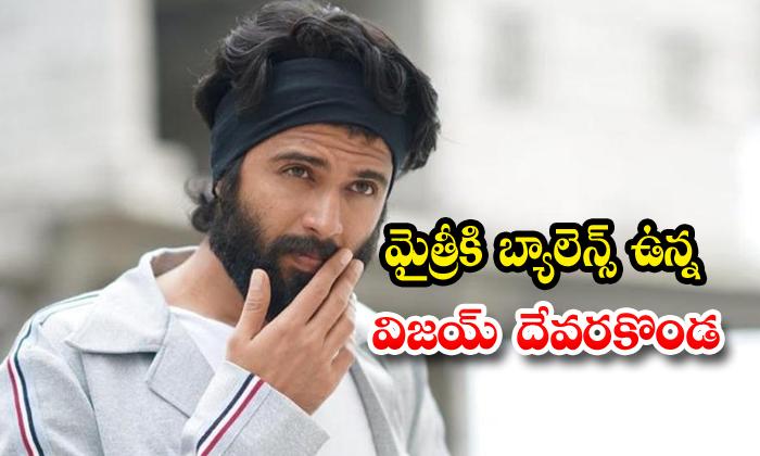 Vijay Devarakonda Next Movie In Mytri Makers - Telugu Director Sujith Maruti Tollywood