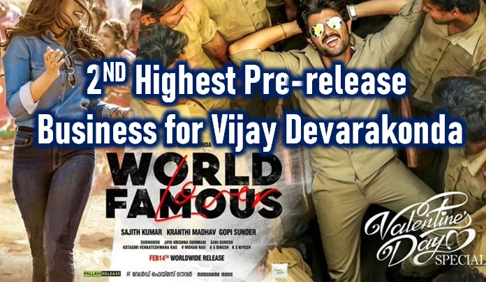 World Famous Lover Pre-release Business Lags Behind Dear Comrade!