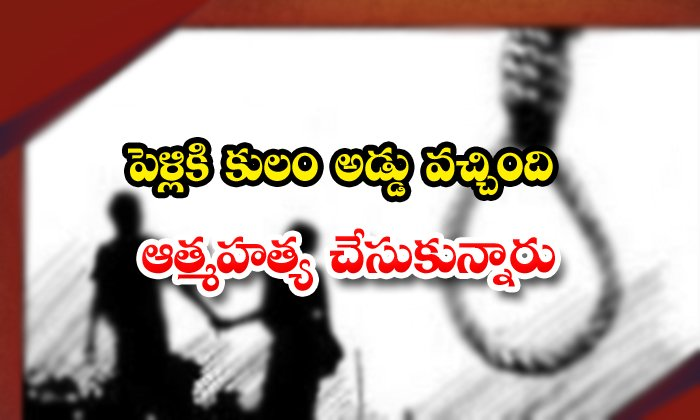 Lovers Commit Suicide In Chittoor District