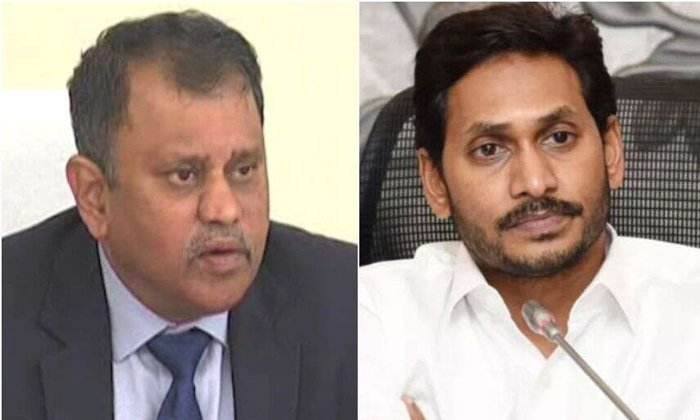 Telugu Ap Cm Jagan Mohan Reddy, Ap Elections, Ap Elections Post Pone, Ap Ycp Party, Jagan Mohan Reddy, Janasena And Tdp, Nimmagadda Ramesh Kumar, Ycp Leaders Comments On Ramesh Kumar-Political