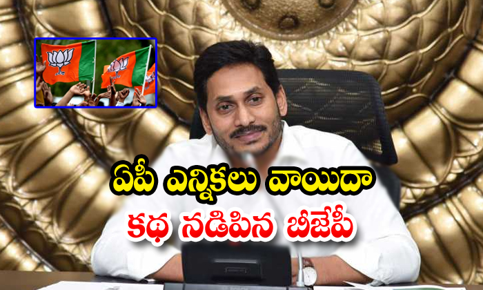 Bjp Play The Key Role To Post Pone The Ap Local Elections