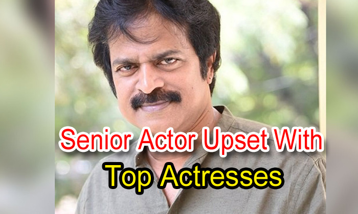 Senior Actor Upset With Top Actresses