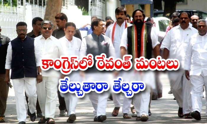 Congress Seniours Leaders Not To Support To Revanth Reddy