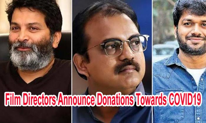 Film Directors Announce Donations Towards Covid19