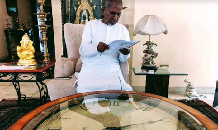 Ilayaraja Starts Recording For 'Rangamaarthanda'-Movie-English-Telugu Tollywood Photo Image