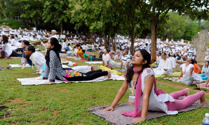 Telugu 1993 Yoga Stay, American Yoga, Democaratic Party Jerim Gray, Indian Yoga, Indian Yoga Best, June 21st Yoga Day, Yoga Camps In America-Telugu NRI
