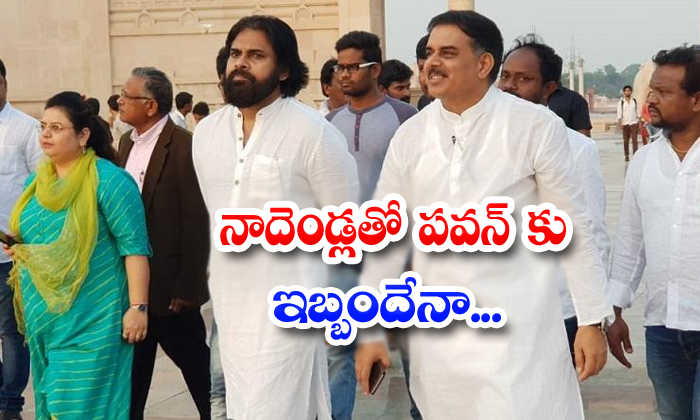 Janasena Leader Nadendla Manohar Daminate The Pawan Kalyan