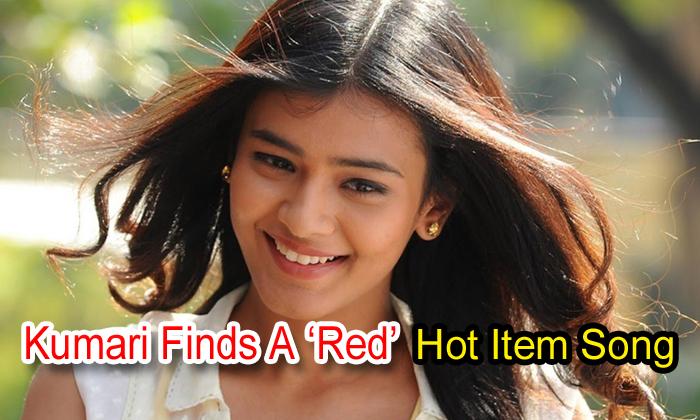 Kumari Finds A 'red' Hot Item Song